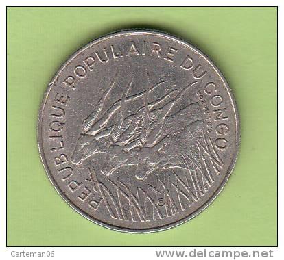 Pièce - Congo - République Populaire Du Congo - 100 Francs - 1972 - Congo (République 1960)