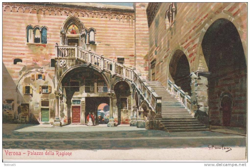 VERONA--PALAZZO DELLA RAGIONE--OFFICINE FRANCHINI EDITORE--FP--N - Verona