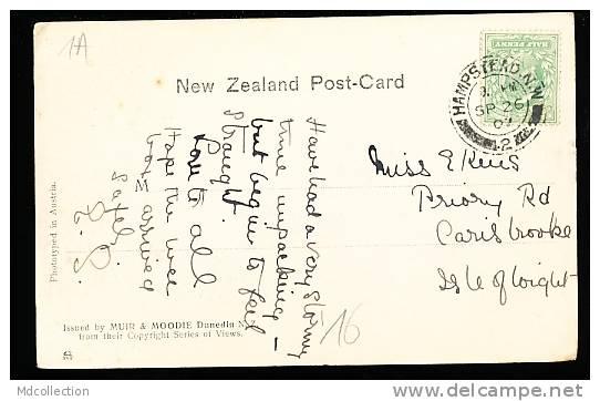 NOUVELLE ZELANDE MANAPOURI / Cathedral Peaks, Lake / - Nouvelle-Zélande