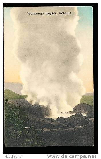NOUVELLE ZELANDE ROTORUA / Waimungu Geyser / - Nouvelle-Zélande