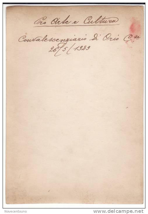 Piemonte - Torino-Orio Canavese -Fotografia 1929 - Convalescenziario - Sin Clasificación