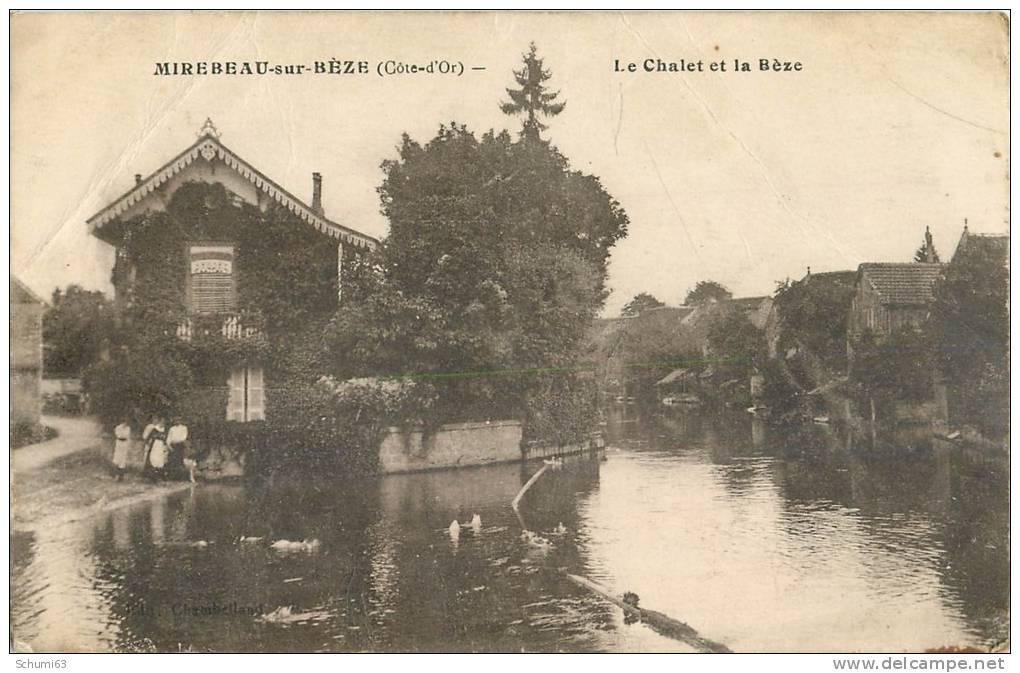 D 21 - MIREBEAU  Sur BEZE - Le Chalet Sur La Beze - Mirebeau