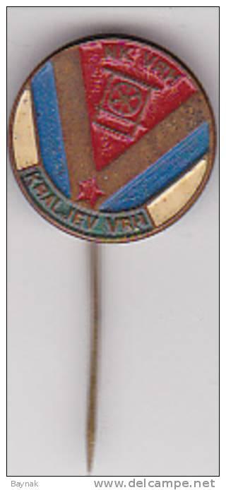 CROATIA  --  PIN  --  FOOTBAL CLUB   --  NK VRH,  KRALJEV VRH - Fussball