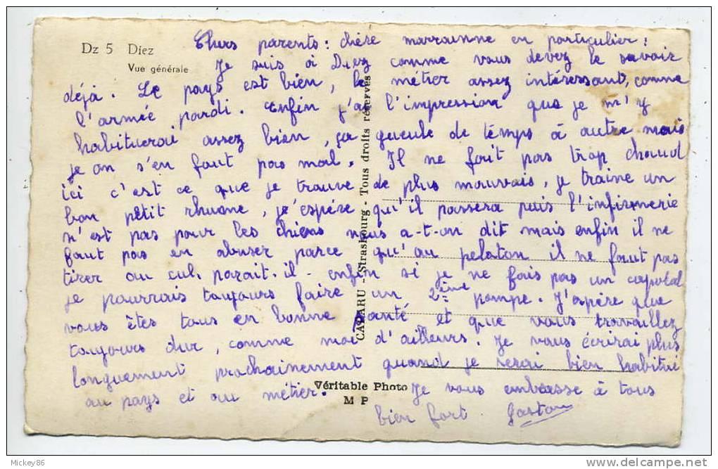 Allemagne--DIEZ---Vue Générale ,cpsm  9 X 14 N°5  éd Calaru - Diez
