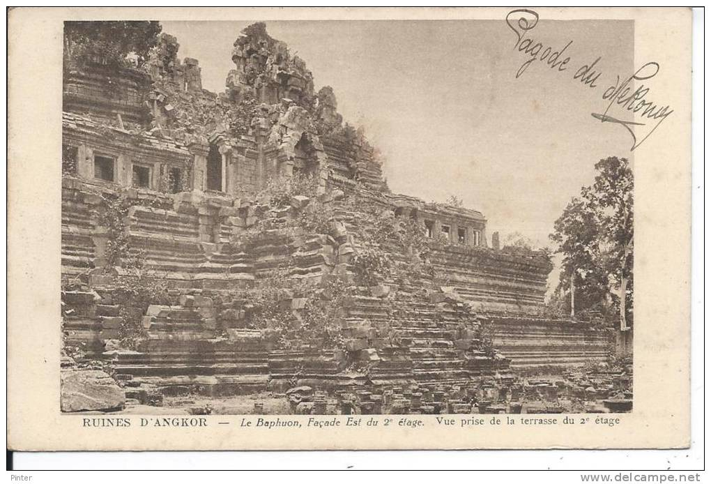 CAMBODGE - Ruines D'ANGKOR - Le Baphuon - Cambodia