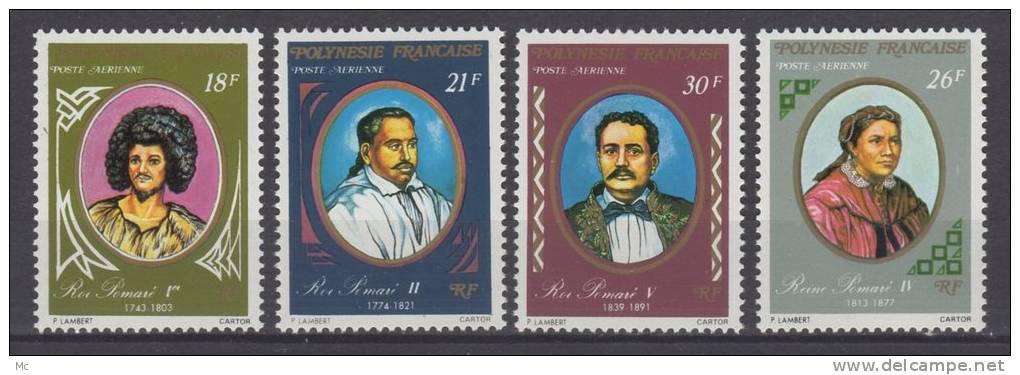 Polynésie PA N°  106 / 109 Luxe ** - Luftpost