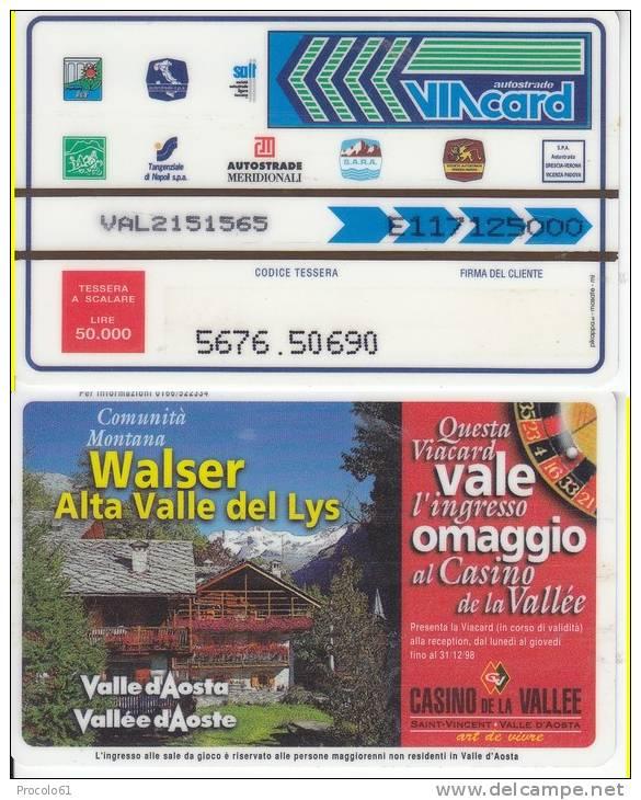 VIACARD 50.000 50000 Lire Us.WALSER - Non Classificati