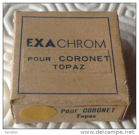 Filtre Exachrom Jaune Pour Coronet Topaz Avec Boite D'origine - Linsen