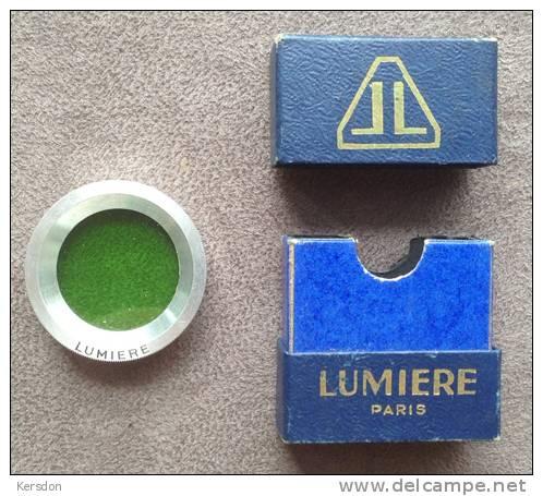 Filtre Lumiere Vert Avec Sa Boite - Linsen