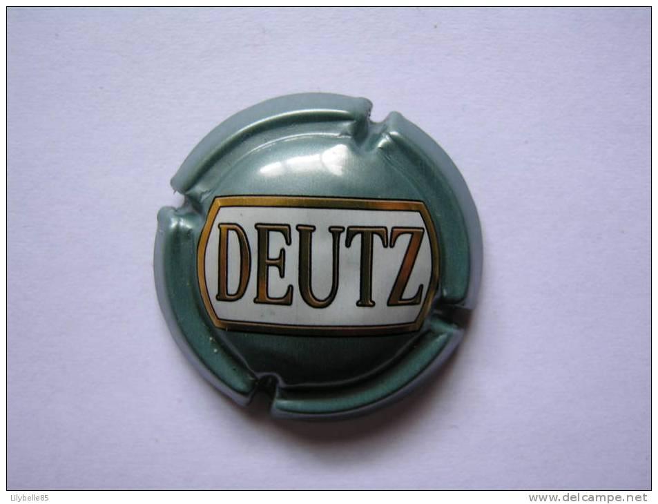 Capsule De Champagne Muselet - DEUTZ - Deutz
