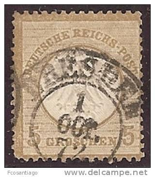 ALEMANIA 1872 - Yvert #6 - VFU - Usados