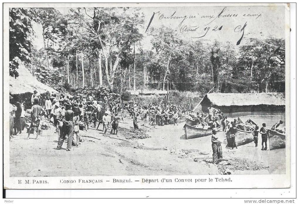 REPUBLIQUE CENTRAFRICAINE - BANGUI - Départ D'un Convoi Pour Le Tchad - Centrafricaine (République)