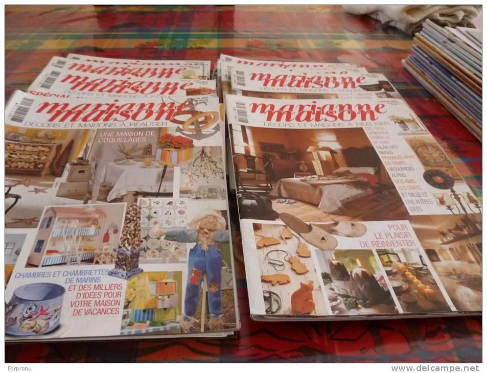 11 Magazines  MARIANNE MAISON DECORATION - Creative Hobbies