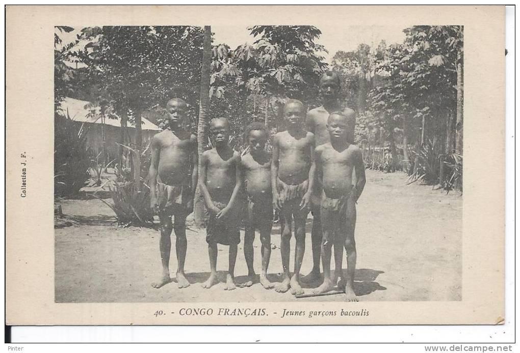 CONGO FRANCAIS - Jeunes Garçons Bacoulis - Congo Français - Autres
