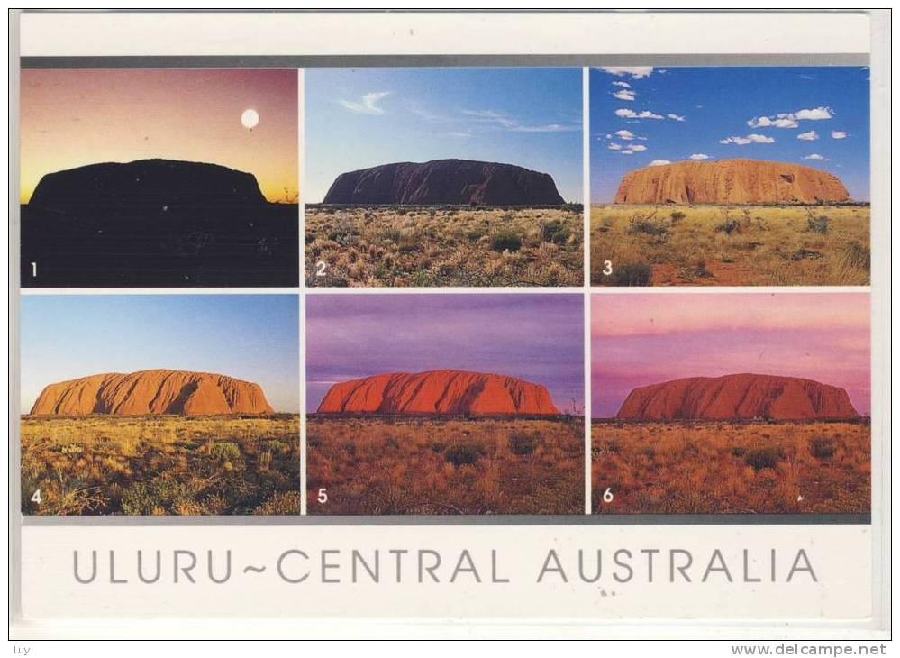 ULURU - 2000,   Posted W. Stamp - Uluru & The Olgas