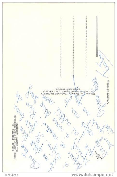 21 CHENOVE PASSAGE INTERIEUR DU CENTRE COMMERCIAL - Chenove