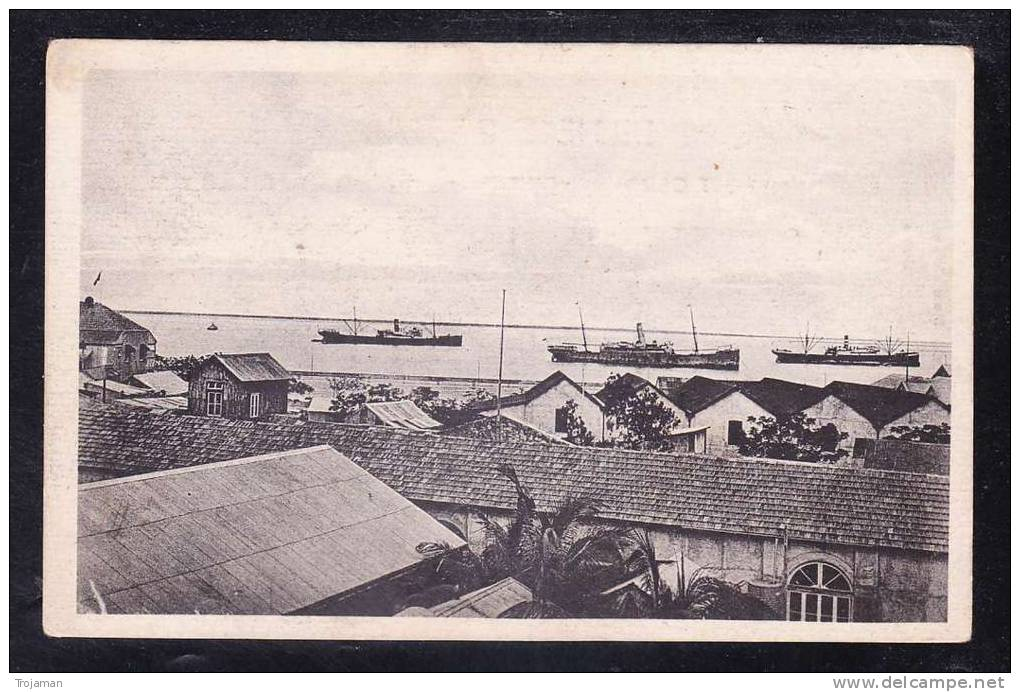 AFR2-47 MOZAMBIQUE BEIRA HARBOUR - Mozambique