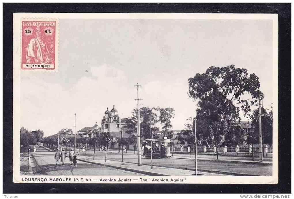 AFR2-69 MOZAMBIQUE LOURENCO MARQUES AVENIDA AGUIAR - Mozambique