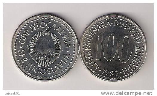 Yugoslavia 100 Dinara 1985. UNC KM#114 - Yugoslavia