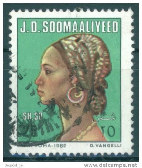 SOMALIE - 1982 -  USED/OBLIT. FEMME SOMALIENNE Mi 332 Yv 288-  Lot 7842 - Somalie (1960-...)