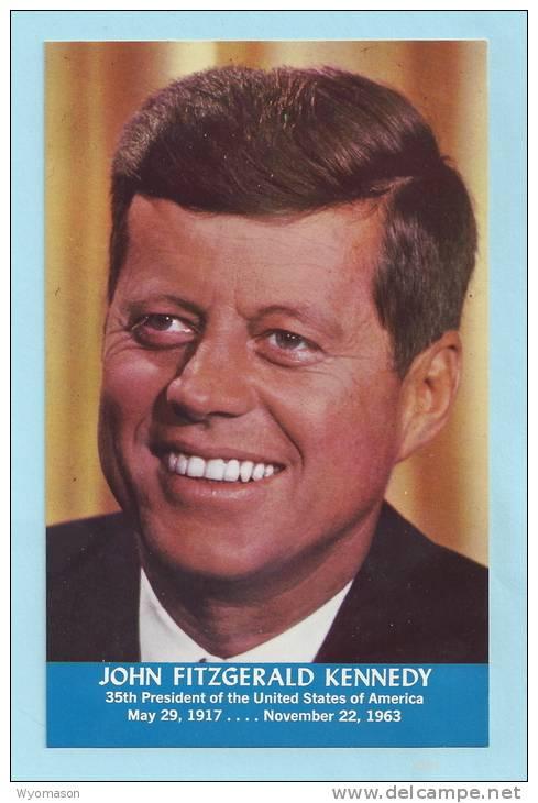 John F. Kennedy - Postcard [#A0431] - Politicians & Soldiers