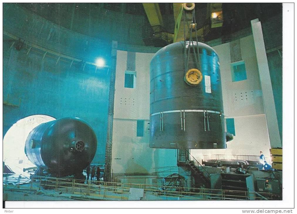 Centrale Nucléaire De PALUEL - Manutention D'une Partie Supérieure De Générateur De Vapeur - France