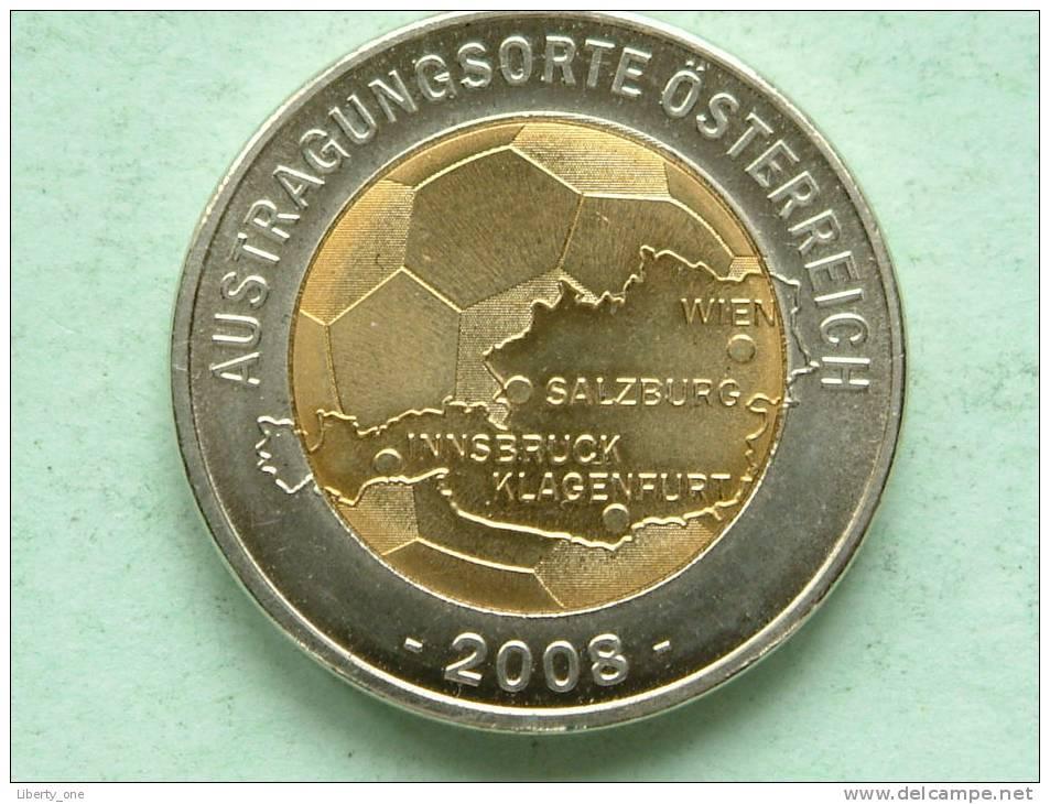 AUSTRAGUNGSORTE ÖSTERREICH 2008 / SCHWEIZ - ÖSTERREICH ( 13.2 Gr. Bicolor / Uncleaned - Details Zie Foto´s ) ! - Jetons & Médailles