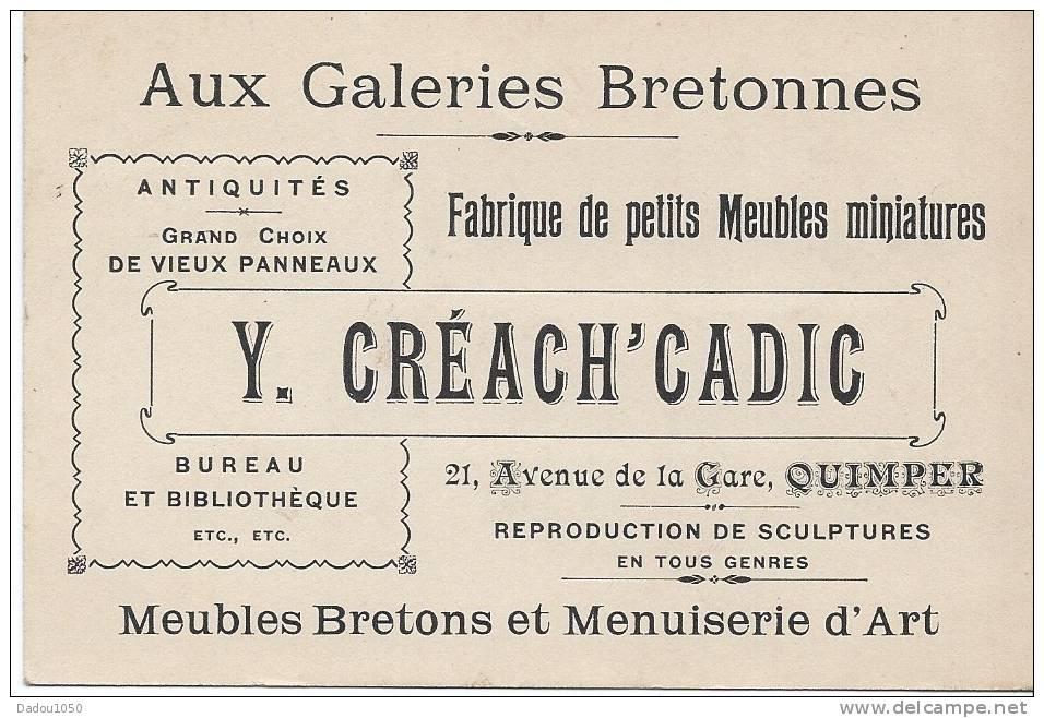 29 QUIMPER Aux Galeries Bretonnes - Old Paper