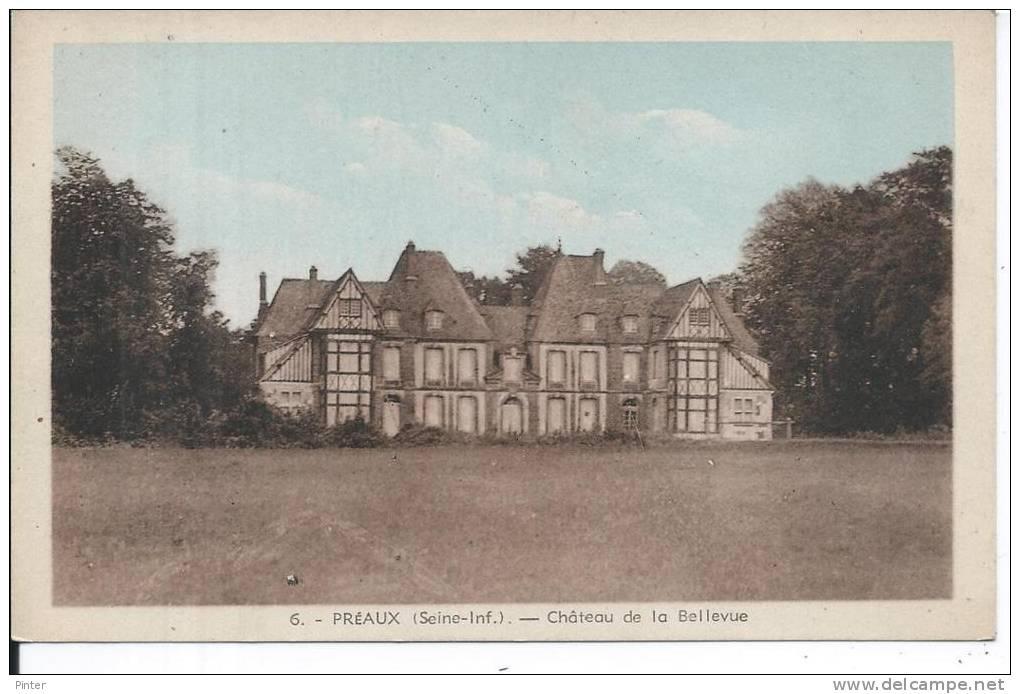 PREAUX - Château De Bellevue - France