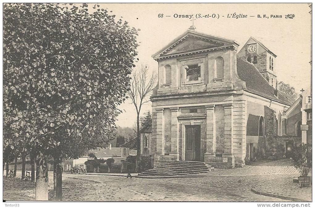 ORSAY  - 91 -  L´Eglise  -  120513 - Orsay