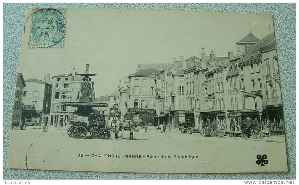 Chalons Sur Marne - Place De La Republique - Châlons-sur-Marne