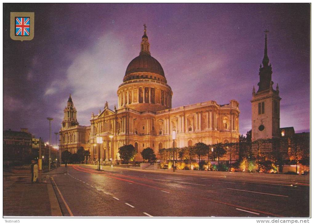 INGHILTERRA--LONDON--ST. PAUL'S CATHEDRAL--FG--WRITTEN - St. Paul's Cathedral