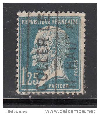 France  Scott No.195 Unused  Year 1926 - Usati