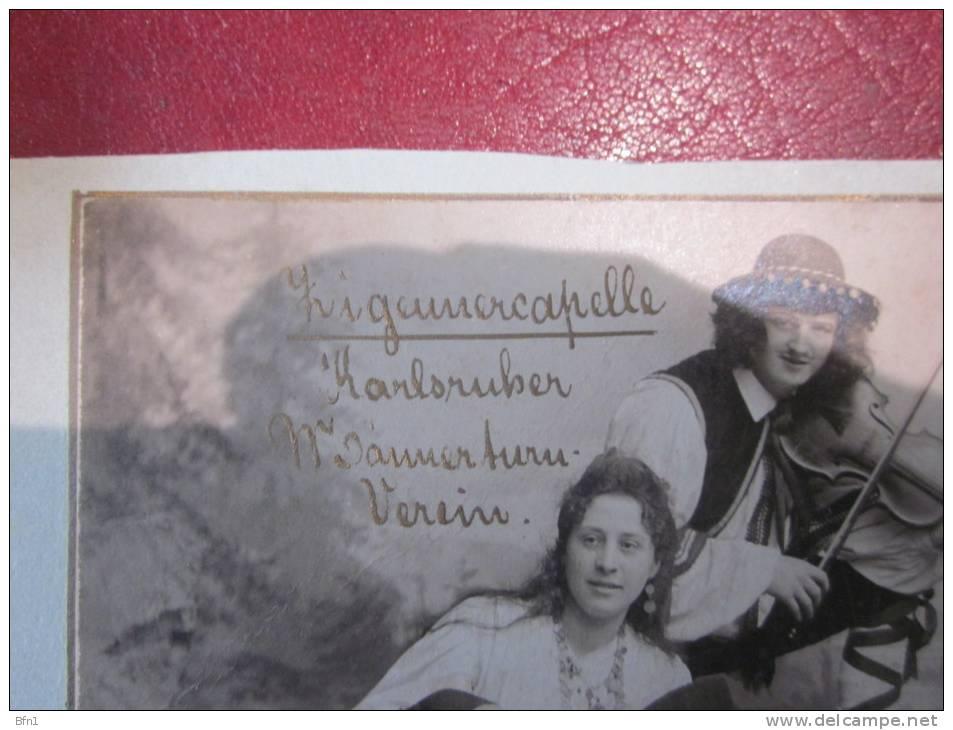 PHOTO OU CPA - ORCHESTRE DE TZIGANES - ALLEMAGNE 1901- VOIR PHOTOS - Fotos