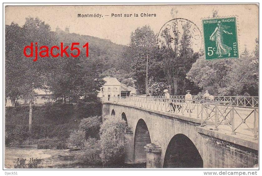 55 - MONTMEDY (Meuse) - Pont De La Chiers - 1910 (Animation) - Montmedy