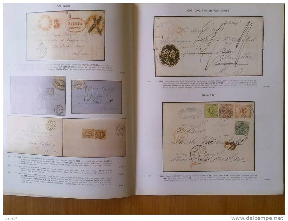 CATALOGO RARITIES OF THE WORLS.SOLER Y LLACH,CATALOGO GRANDES PIEZAS HISTORIA POSTAL DEL MUNDO,VERDADERAS MARAVILLAS DE - Catálogos De Casas De Ventas