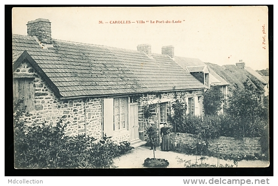 50 CAROLLES / Villa Le Port Du Lude / - Other Municipalities