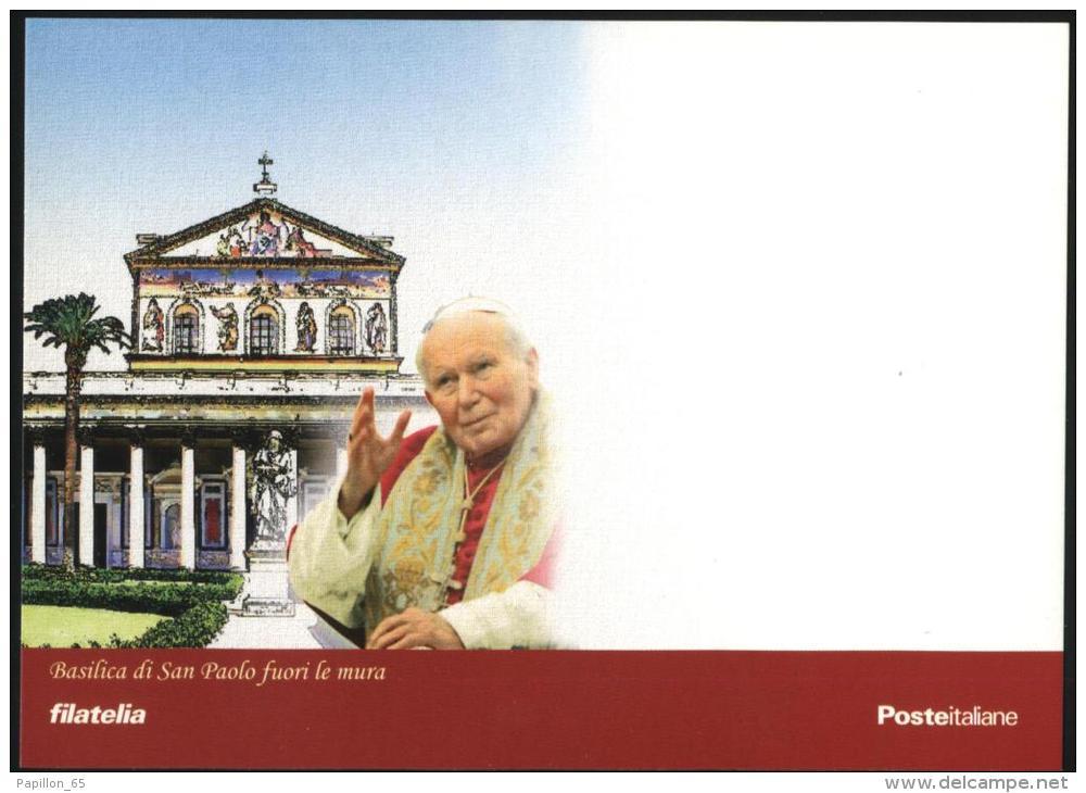 POPE JOHN PAUL II PAPA GIOVANNI PAOLO II PAPIEZA JANA PAWLA II Karol Wojtyla Cartolina - Carte Maximum - Postcard - Vatican