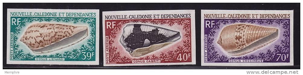 1978 Coquillages   Yv PA 98-100 Non Dentelés  **  Imperf  Shells - Non Dentellati, Prove E Varietà