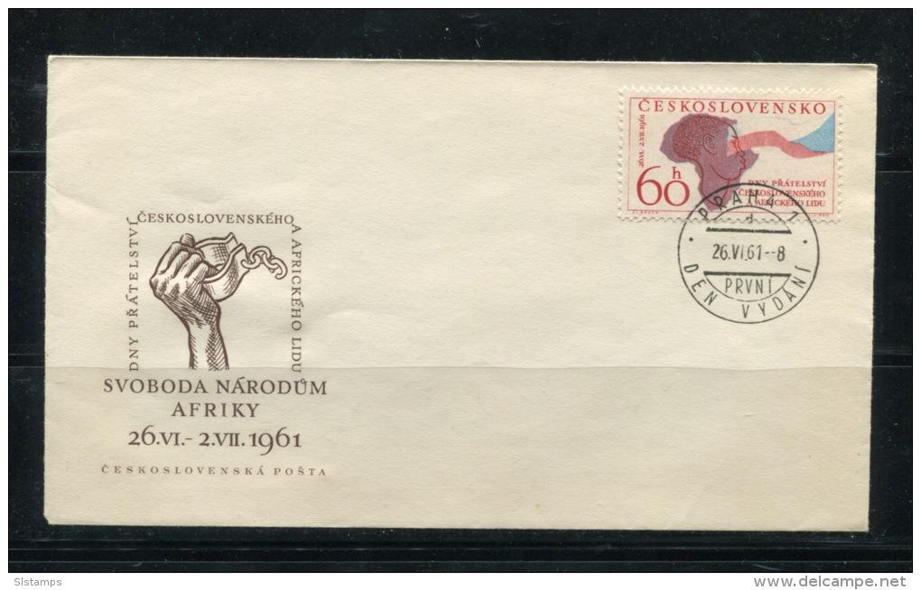 Czechoslovakia 1961 Cover First Day Cancel  Mi 1282 - Czechoslovakia