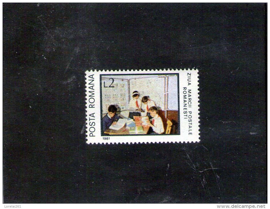 1981  JOURNEE DU TIMBRE  Mi 3828 Et Yv 3355 MNH - 1948-.... Republiken