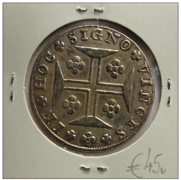 1815, Portuguese Silver Coin, JOANNES...P REGENS, D. João - Portugal