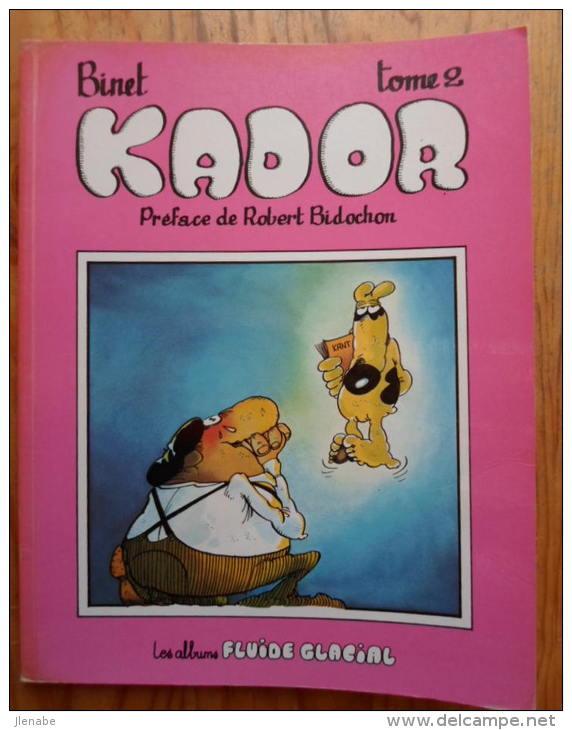 KADOR Tome 2 Réédition 1981 - Kador