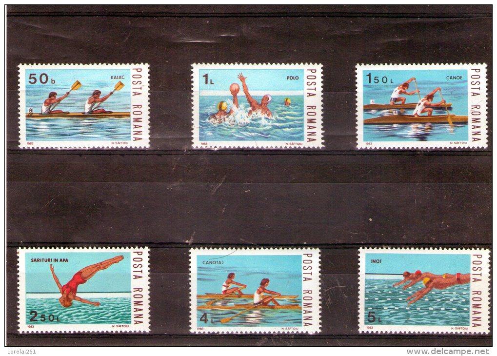 1983 - Sports Nautique 3972/3977 Et Yv 3456/3461 MNH - 1948-.... Republiken