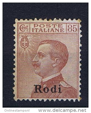 Italy: Egeo Rodi Sa  13 Not Used (*) - Ägäis (Rodi)