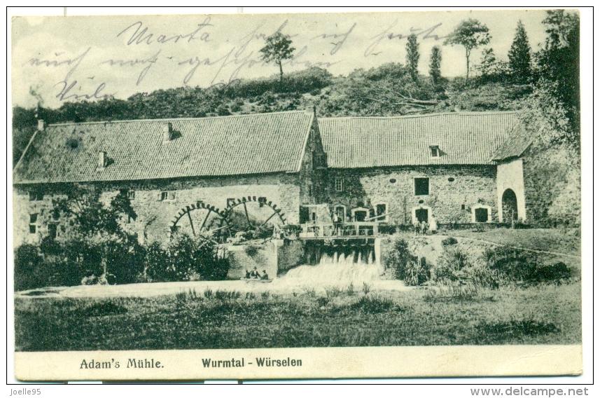 Duitsland - Germany - Deutschland - Wurmtal - Würselen - Aachen - Adam's Mühle - 1910 - Deutschland