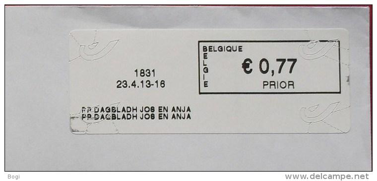 België 2013 PP Dagbladh Jos En Anja 1831 - Logo Bpost - Vignettes D'affranchissement