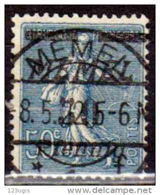 Memel 1922 Mi 61, Gestempelt [180513L] @ - Memelgebiet