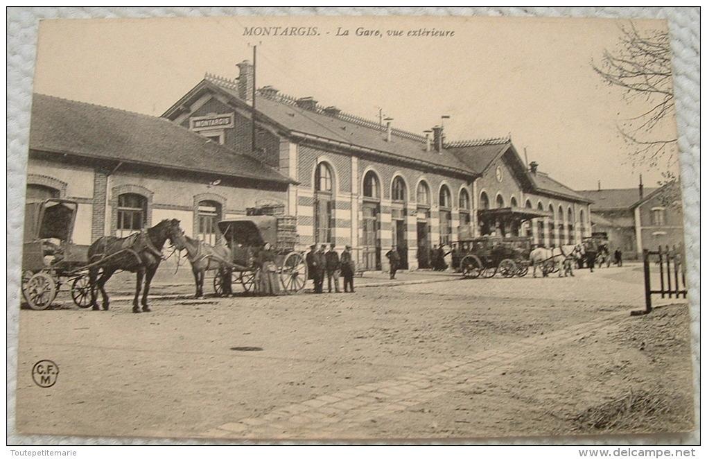 Montargis - La Gare Vue Exterieure - Montargis