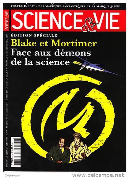 BLAKE ET MORTIMER SPECIAL SCIENCE ET VIE Face Aux Démons De La Science 11-2003 - Blake Et Mortimer